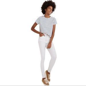 "NWT Madewell 10"" High-Rise Skinny Jeans"